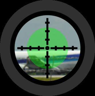 航空管制ライトガン緑